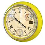 Click here to view Modern Vintage Time Zone Wall Clock Lime Green