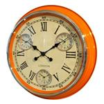 Click here to view Modern Vintage Time Zone Wall Clock Orange