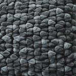 Click here to view Dreamweavers Smoke Grey Chamois Pebble Rug