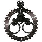 Click here to view Invotis Wall Gear and DATE Clock BLACK/WHITE No.s