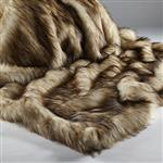 Click here to view Katrina Hampton Cream Reynard Faux Fur Throw