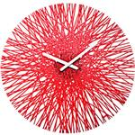 Click here to view Koziol Silk Acrylic Clock In Three Colours