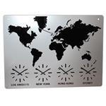 Click here to view Roco Verre Acrylic Map Clock