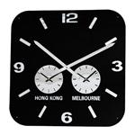 Click here to view Roco Verre Retro City Time Clock Black