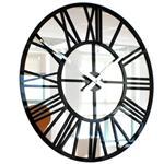Click here to view RocoVerre Acrylic Gloss Mirror Skeleton Clock