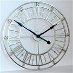 Click here to view Silver Iron Skeleton Wall Clock
