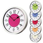 Click here to view Roco Verre Modern Vintage French Wall Clock White