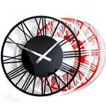 Click here to view RocoVerre Acrylic Gloss Skeleton Roman Clock SMALL