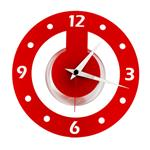 Click here to view Roco Verre Acrylic Atom Clock Red