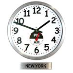 Click here to view Roco Verre Custom AM/PM Clock & City Sign