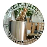 Click here to view Roco Verre Mosaic Frosted Mirror