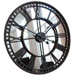 Click here to view Antique Mirror Iron Roman Skeleton Wall Clock