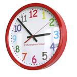 Click here to view 14 Colour Comic Sans Modern Classic School Clock