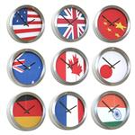 Click here to view Abstract Flag Clocks