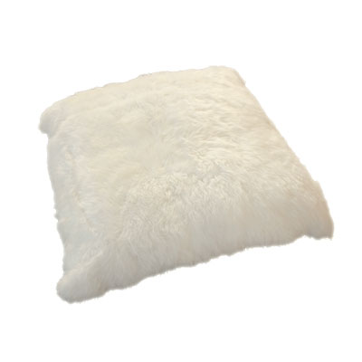 Auskin Long Wool Ivory Cushion