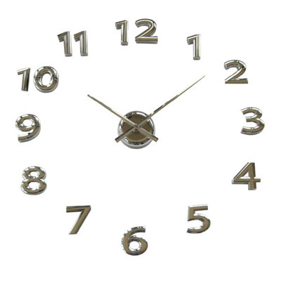Balvi Mega Clock Chrome