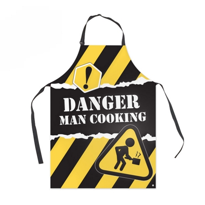 "Balvi Apron ""Danger Man Cooking"""