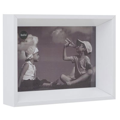 Balvi Angle 8 x 10 Photo Frame White