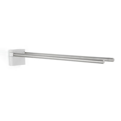 Blomus Brushed Stainless Steel Twin Towel Rail