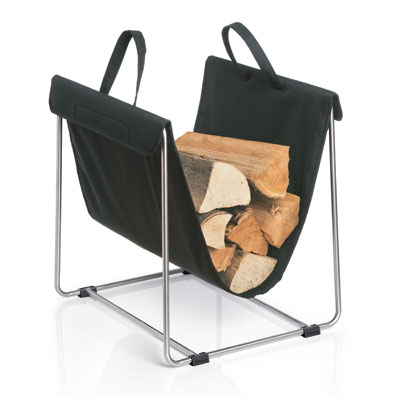 Blomus Madra Log Holder Black