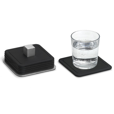 Blomus Coasters and Stand Set