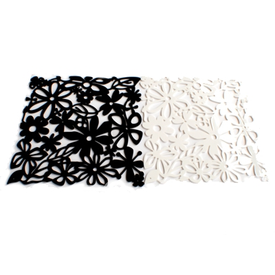 Contemporary Heaven Floral Acrylic Placemats