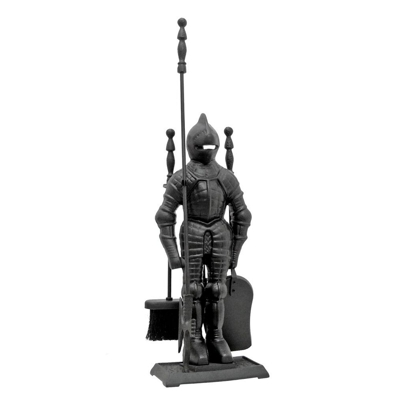 English Knight Fireside Tool Companion Set
