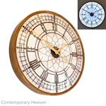 Large Big Ben Illuminated Wall Clock Light