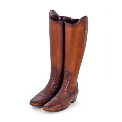 Riding Boots Umbrella Stand Vase