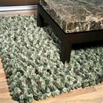 Dreamweavers Military Chamois Pebble Rug
