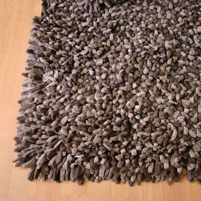 Dreamweavers Latte Chamois Spiky Rug
