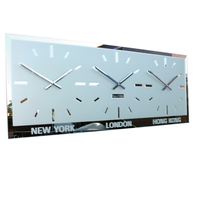Bevelled World Clock 10 Dial