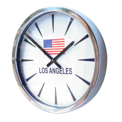 Chevron Flag Modern Classic Wall Clock