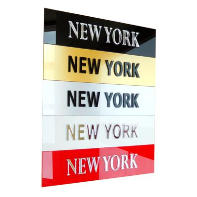 Personalised Time Zone Signs Plaques