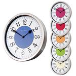 Roco Verre Modern Vintage French Clock Polished