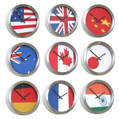 Abstract Flag Clocks
