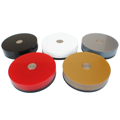Polo Acrylic Modern Coasters  Sets 5 Colours