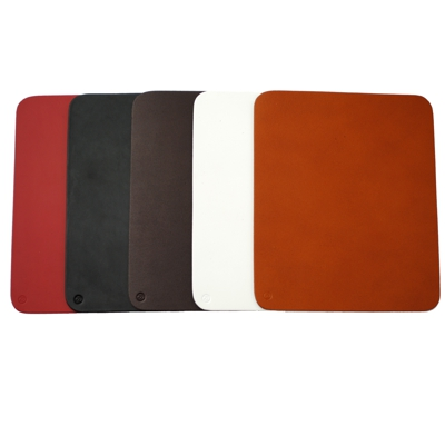 Roco Verre Real Leather Hide Mousemat
