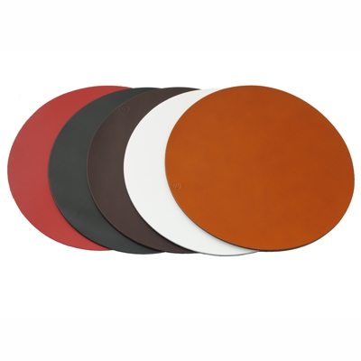 Real Leather Hide Revolution Placemats