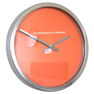 Roco Verre Tango Block Colour Clock