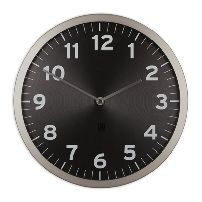 Umbra Anytime Wall Clock Black