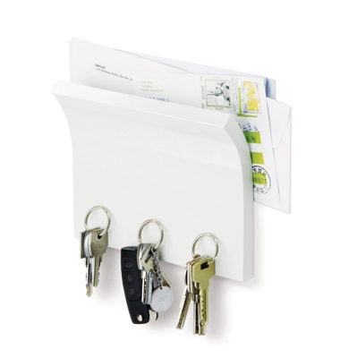 Umbra Magnetter White, Key and Envelope Holder