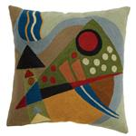 Zaida Kandinsky Deep Abstraction Cushion 18""