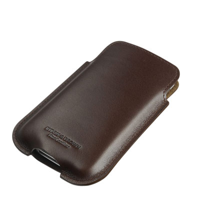 Byron & Brown Luxury Italian Leather iPhone Case