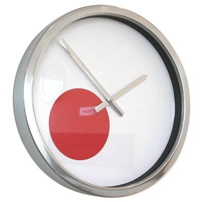 Roco Verre Giant Japanese Flag Clock