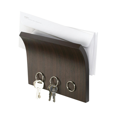 Umbra Magnetter Espresso Key and Envelope Holder