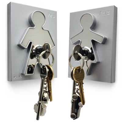 J Me His and Hers Key Holders