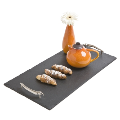 Natural Handcut Large Slate Serving Tray