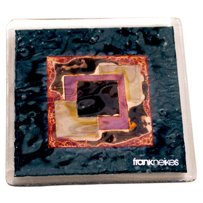 ART FUSED GLASS COASTERS