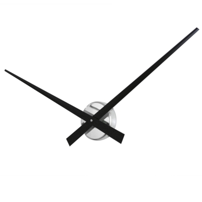 Roco Verre Big Hands Black Clock